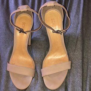 Schutz Nude Heels: Worn Once